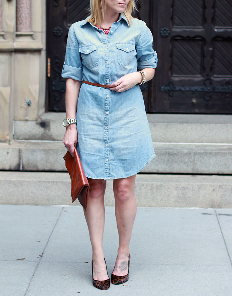 Affordable Denim Dress
