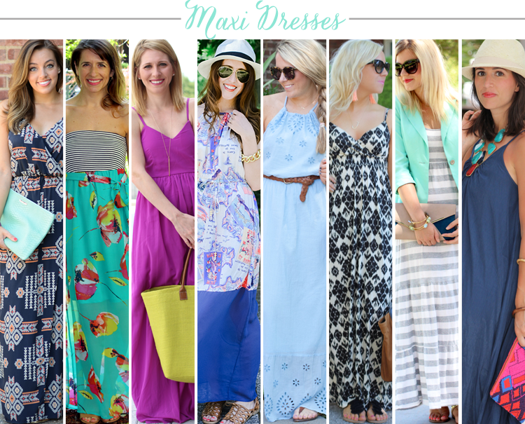 Bloggers Who Budget: Maxi Dresses for Less