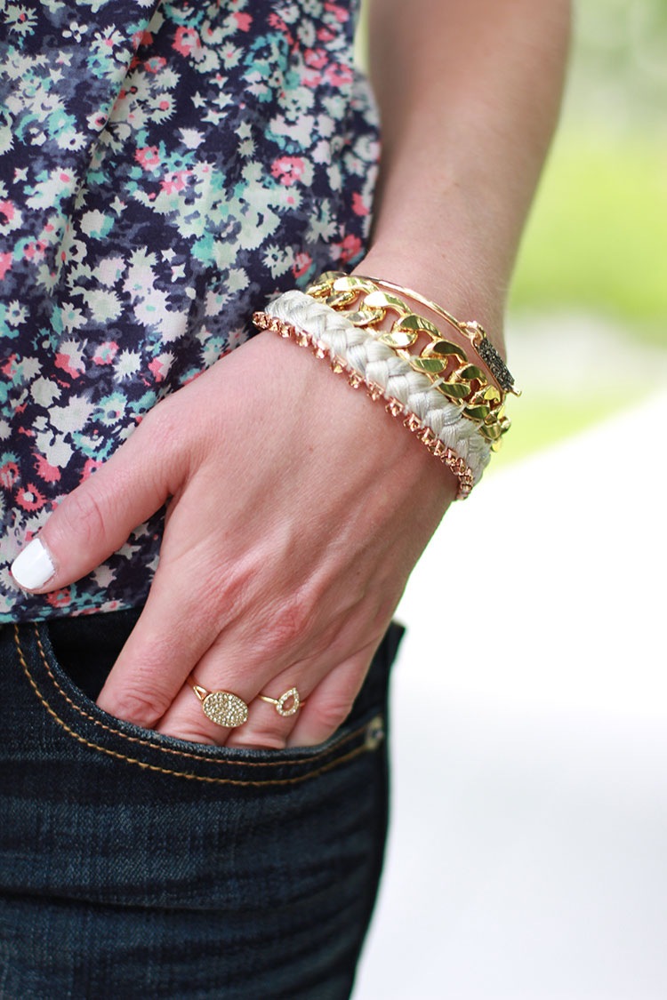 American Eagle Accessories, Dainty Rings, Gold Bangles