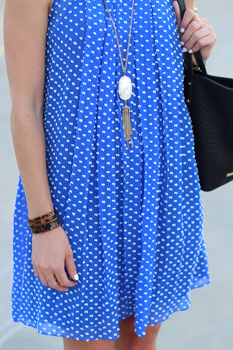 Cobalt Blue Dress, Anthropologie Dress, Wedding Guest for Less