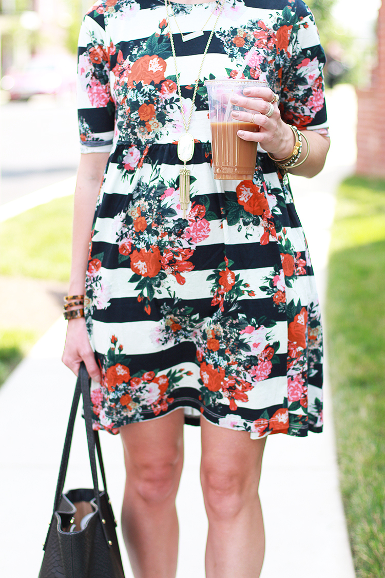 Floral Smock Dress, ASOS Dress, Summer Outfit Idea