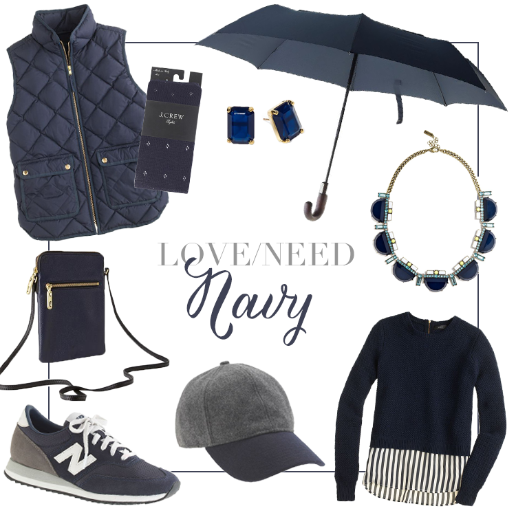 Fall Fashion: Navy