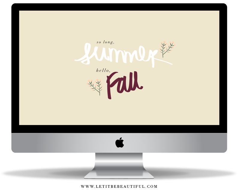 Fall Desktop Download, Fall Freebie