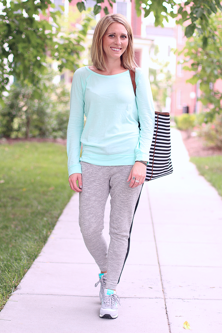 Weekend Casual Style, Relaxed Fit Sweat Pants