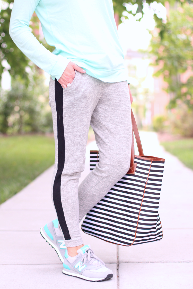 Comfy Casual, Weekend Casual, Grey Sweat Pants