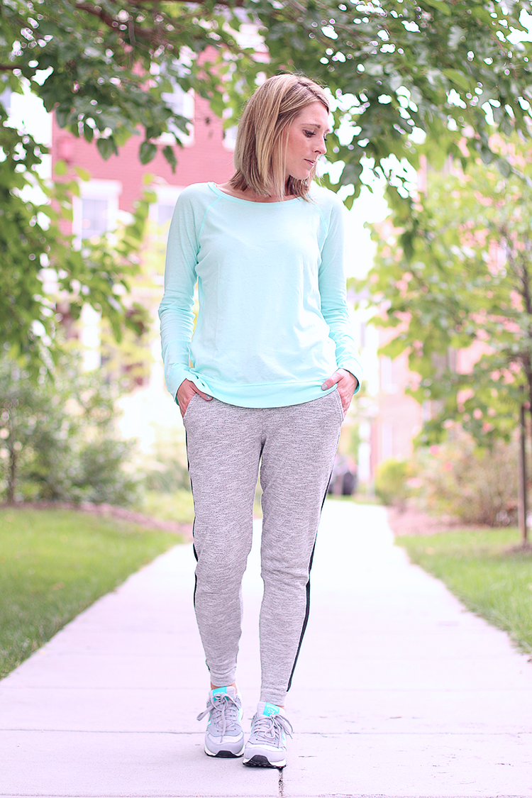 Weekend Casual, Relaxed Fit Sweat Pants, Casual Long Sleeve Shirt