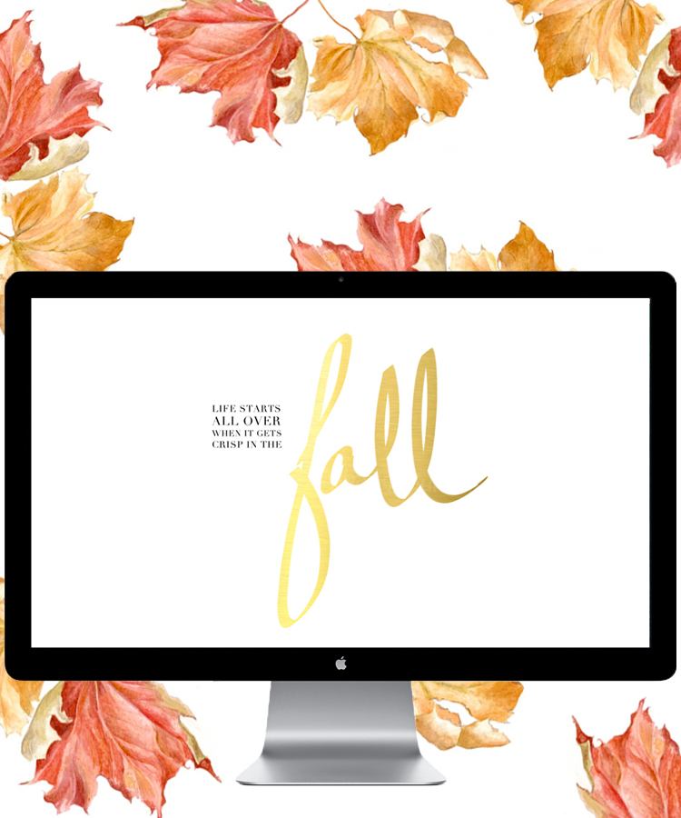 Fall Freebie Desktop Freebie