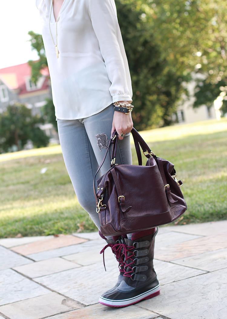 Stylish Winter Boots, Fall Fashion, Fall Outfit Idea