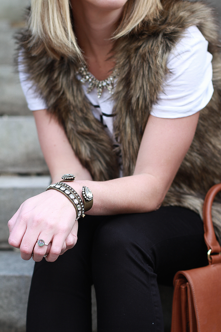 Druzy Ring, Loren Hope Bracelets