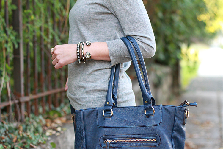 Loren Hope Jewelry, Sole Society Bag, Fall Outfit Idea