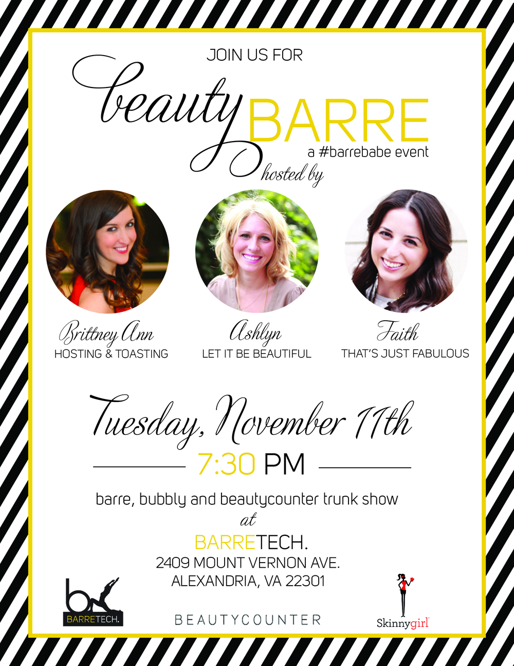 Beauty Barre Event