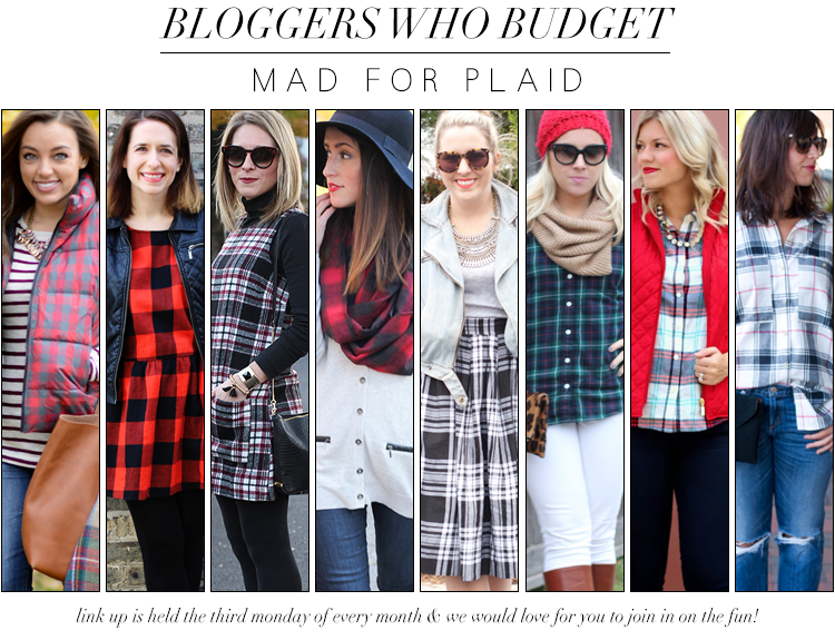 Bloggers Who Budget | Mad About Plaid