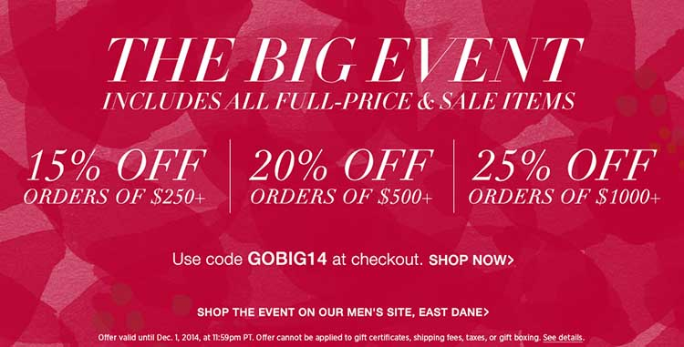 The Big Event - Shop Bop