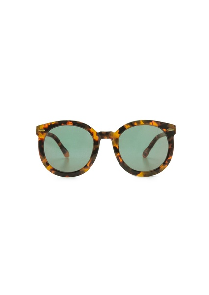 Karen Walker Super Duper Strength Mirrored Sunglasses