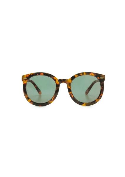 Karen Walker Super Duper Strength Mirrored Sunglasses