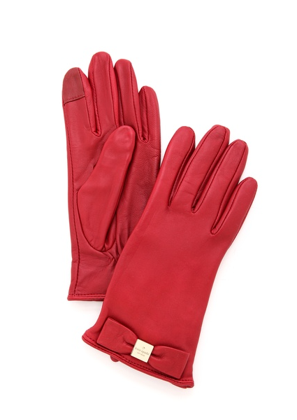 Kate Spade New York Bow Logo Gloves