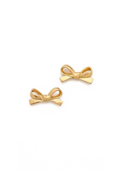 Kate Spade New York Skinny Mini Bow Stud Earrings