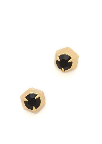 Rebecca Minkoff Button Earrings