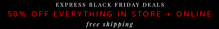 Express Black Friday Deal 2014