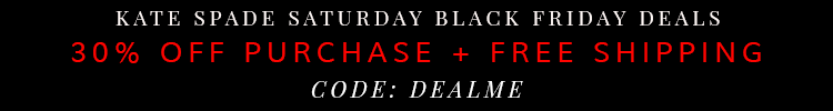Kate Spade Saturday Black Friday Deal 2014
