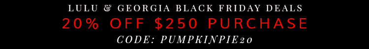 Lulu & Georgia Black Friday Deals 2014