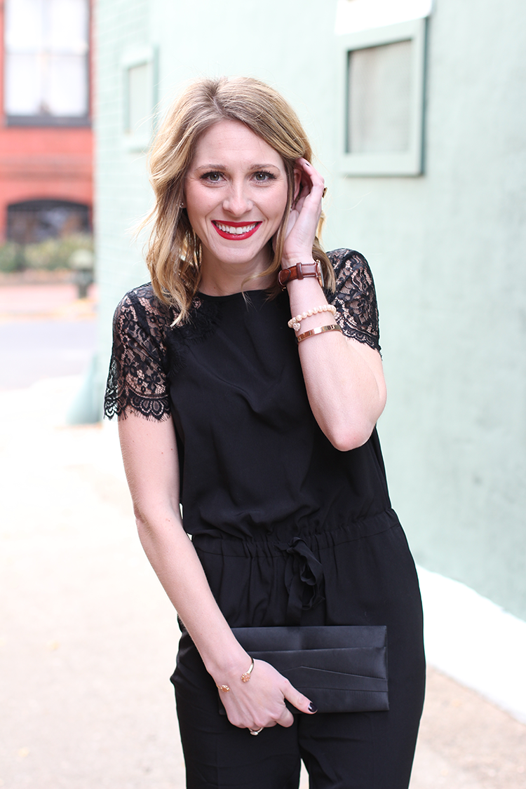 An Effortless Jumpsuit, Holiday Party Inspiration