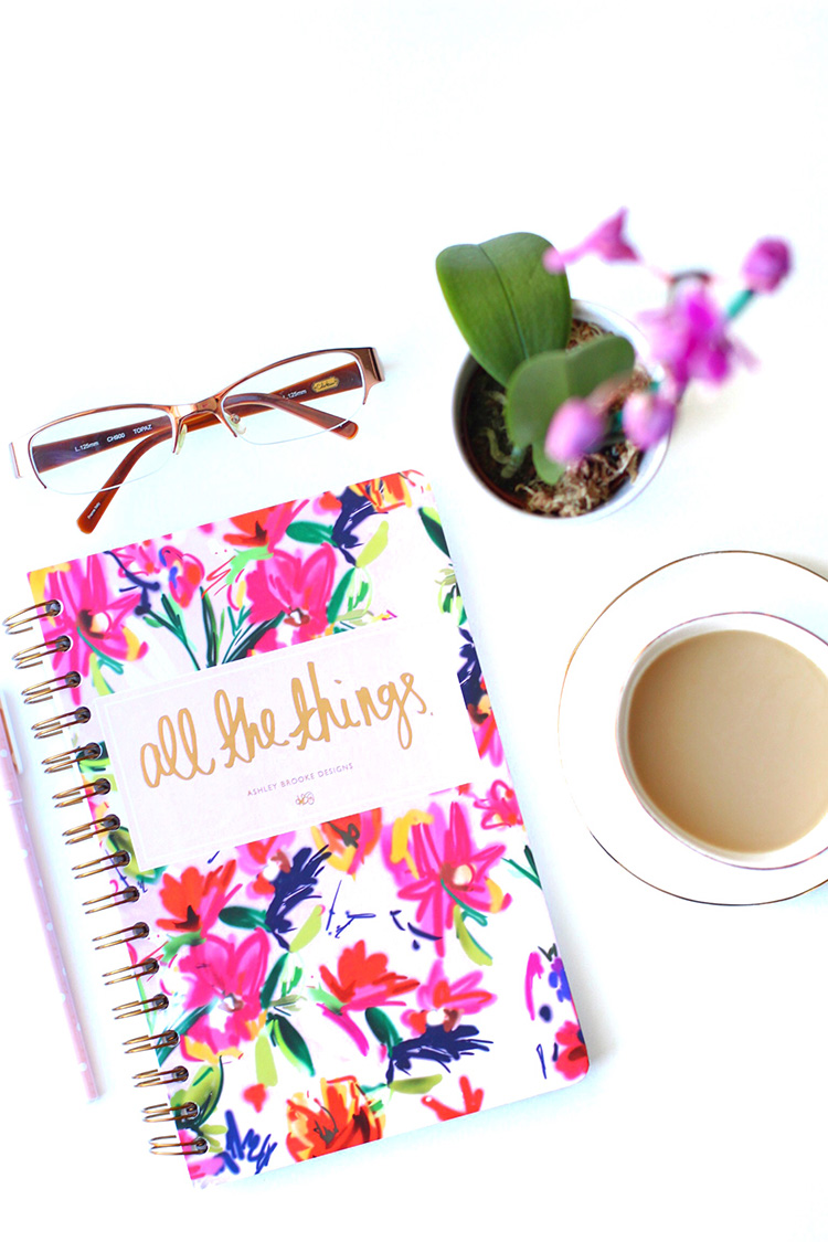 All The Things Notebook, 2015 Resolutions