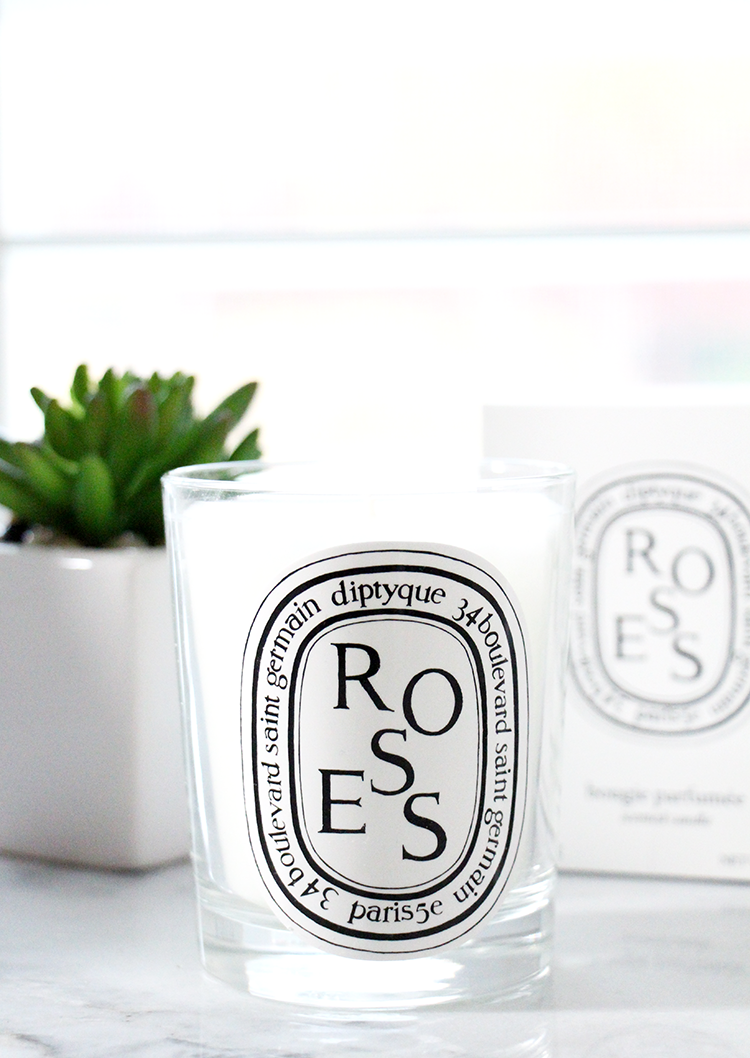 Diptyque Roses Canddle, Diptyque Candle Review, Best Diptqyue Candle