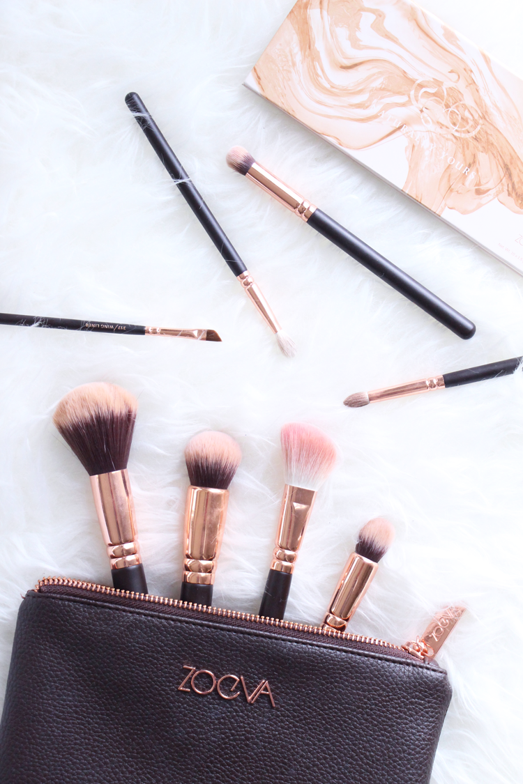 Rose Gold Brushes