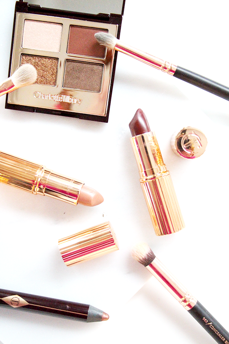 Charlotte Tilbury Lipsticks, Rose Gold Makeup