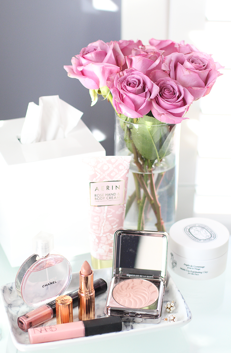 Blush Pink Valentine's Day Makeup Idea