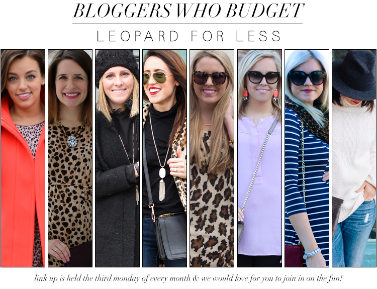 Bloggers Who Budget: Leopard For Less