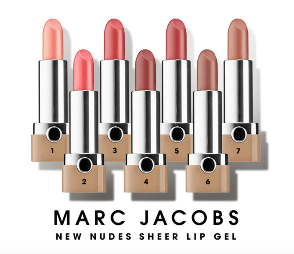 Marc Jacobs New Nudes Sheer Lip Gel
