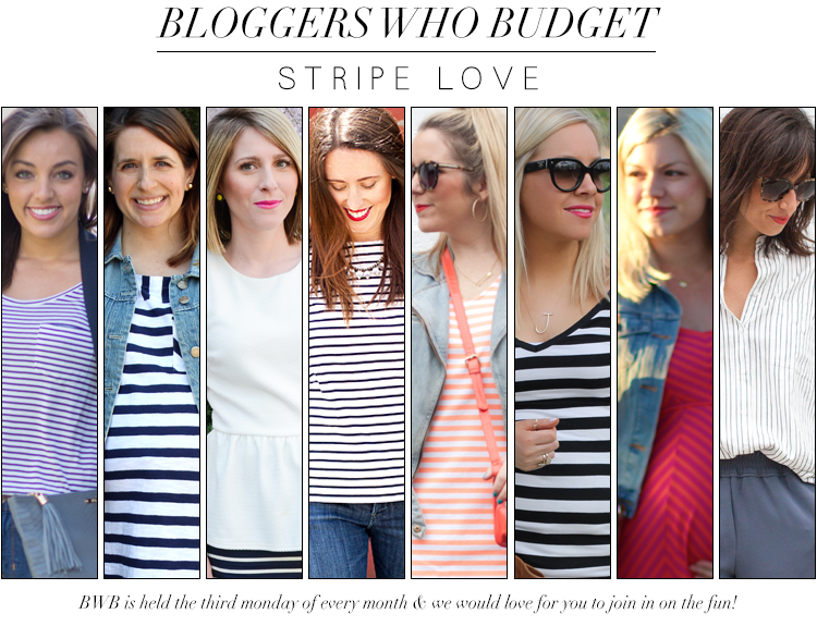 Bloggers Who Budget: Stripes For Less