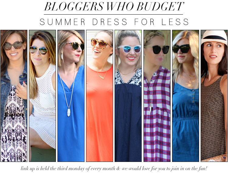 Bloggers Who Budget: Summer Dress For Less