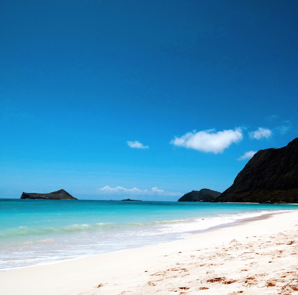 Waimanalo Bay Beach, Hawaii