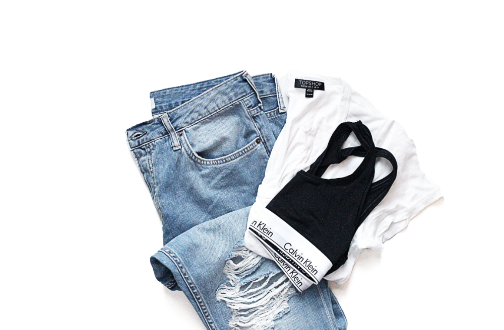 Ripped Denim, Calvin Klein, Topshop