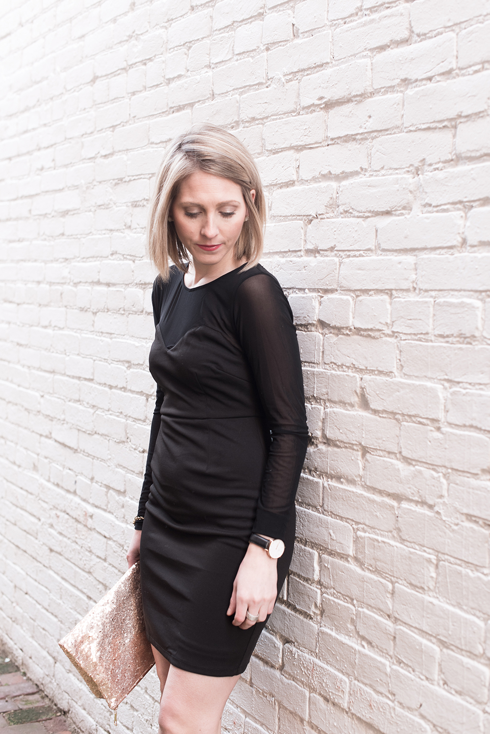 Little Black Dress, Holiday Date Night Look
