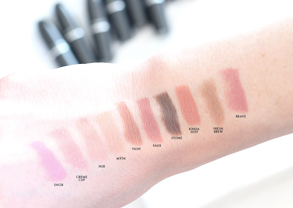 MAC Nude Lipstick Swatches
