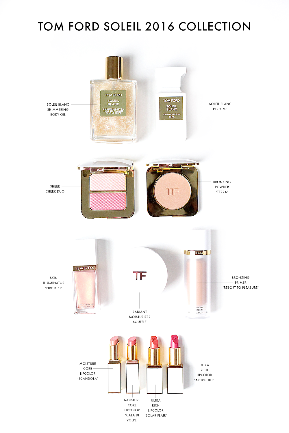Tom Ford Soleil Collection 2016 Preview