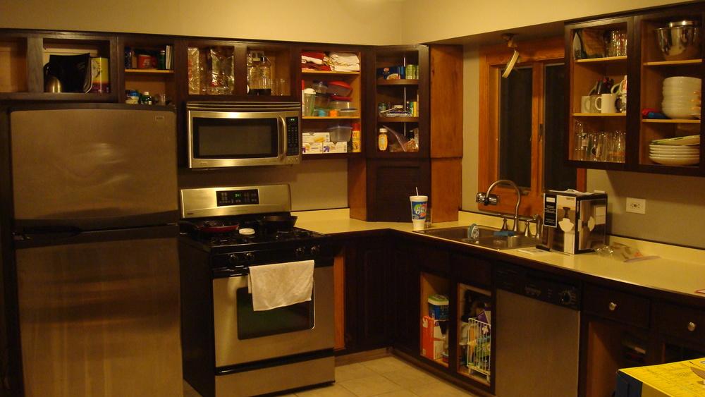 kitchen progress jave gel stain.JPG