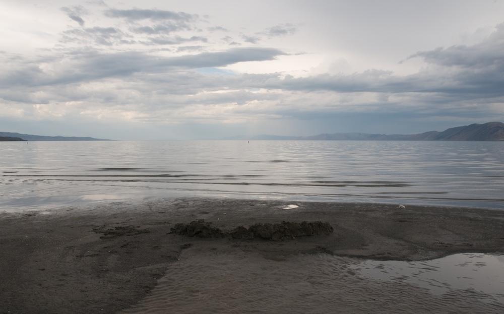 Wall of Sand, Bear Lake, Utah, 2008