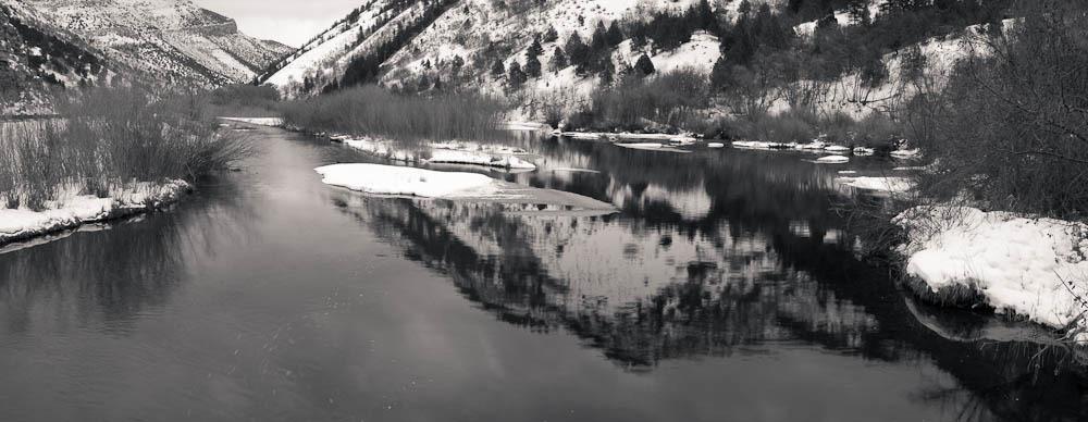 Logan River, Utah, 2010