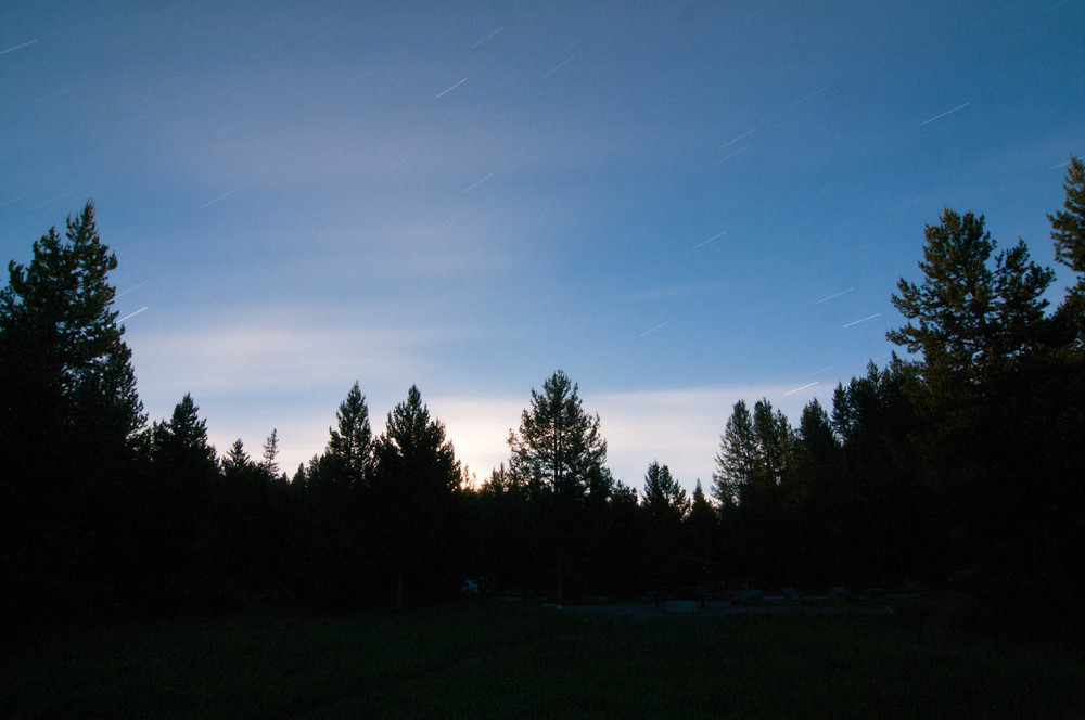 Moonrise, Island Park, Idaho 2013