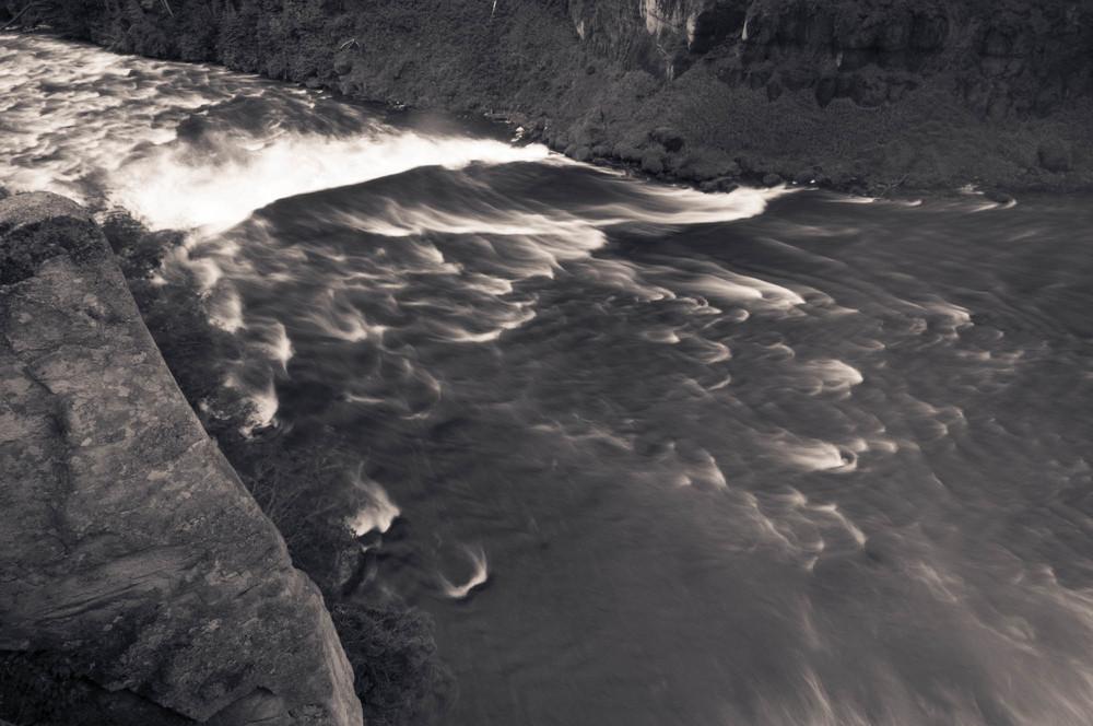 Henry's Fork Below Upper Mesa Falls, Idaho 2013