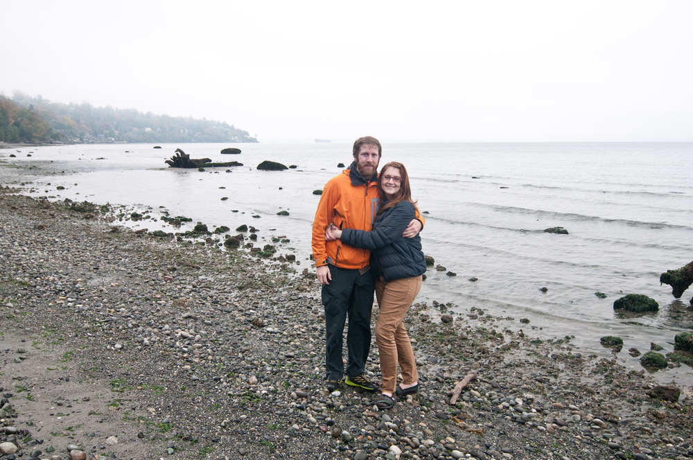 Me and Teresa at Discovery Park