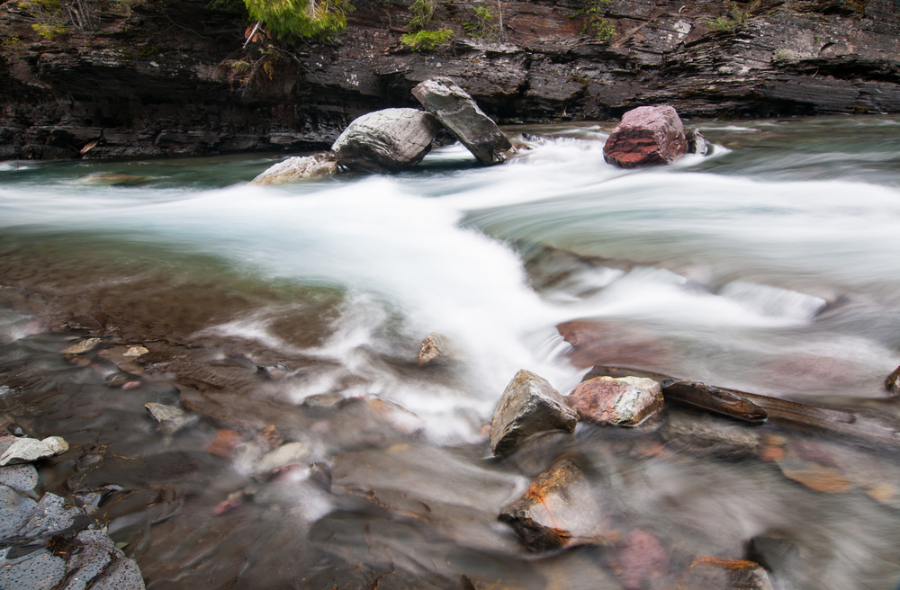 McDonald Creek, Glacier National Park, July 2015