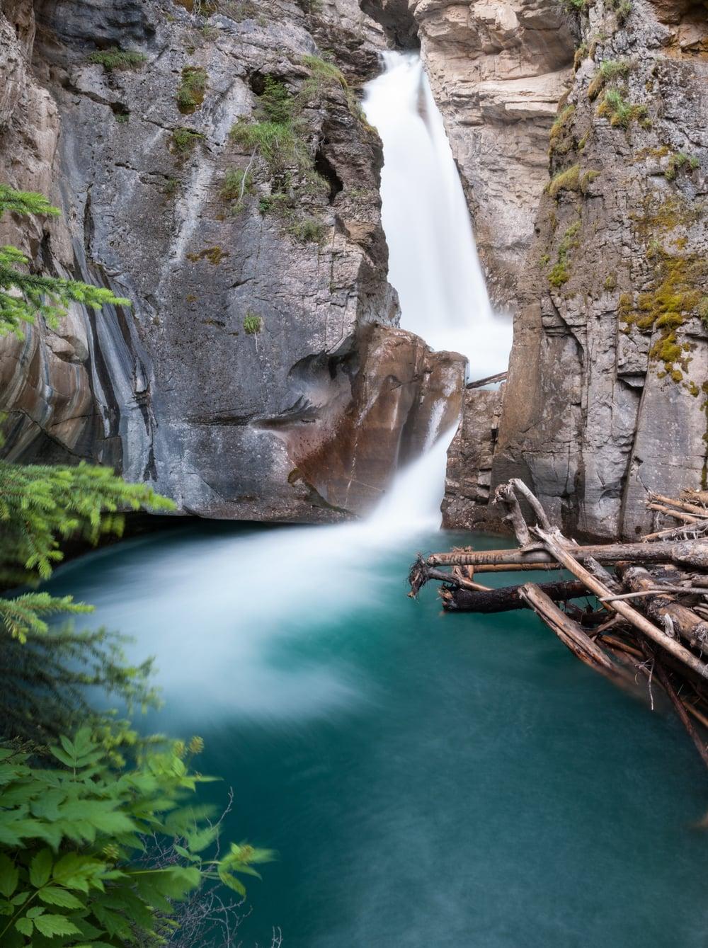 Johnston Falls, Banff National Park, July 2015