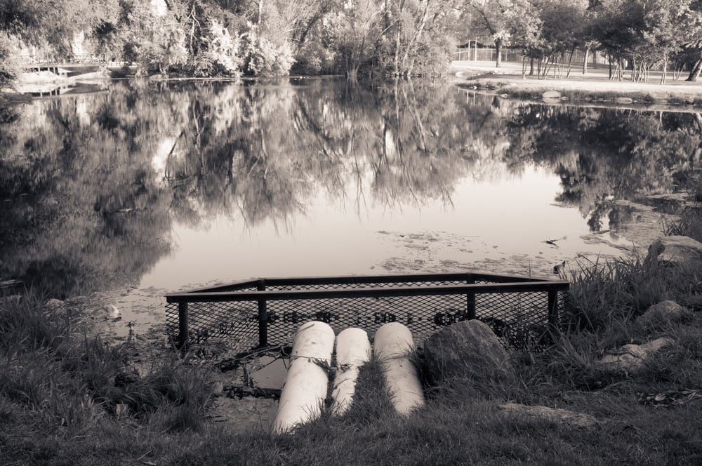 Community Fishing Pond, Willow Park, Logan, Utah, 2008