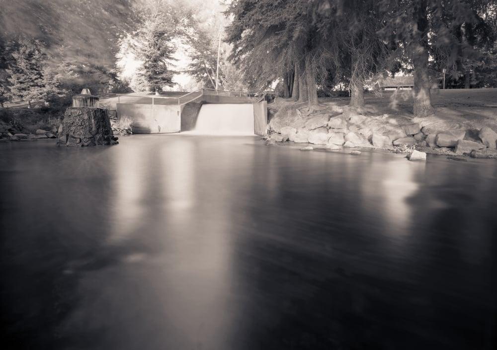 Idaho Canal, Tautphaus Park, Idaho Falls, Idaho, 2005